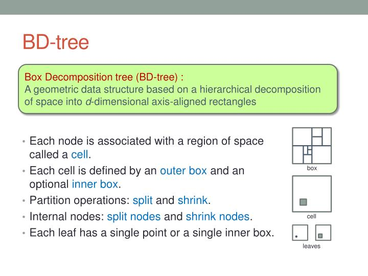 BD-tree