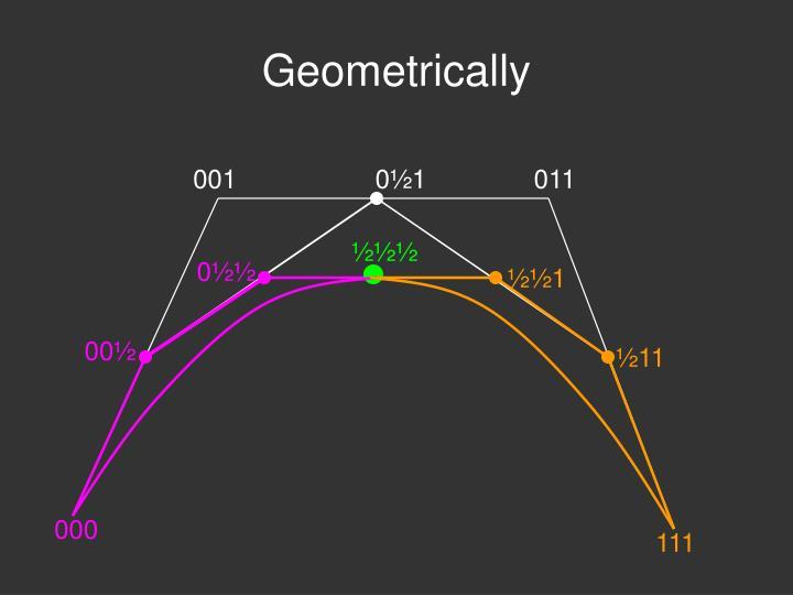 Geometrically
