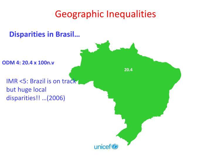 Geographic Inequalities