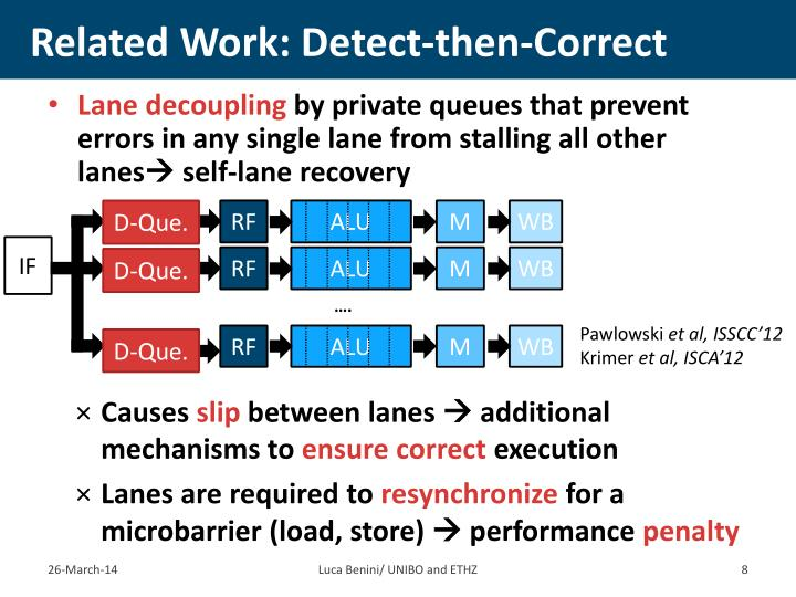 Related Work: Detect-then-Correct