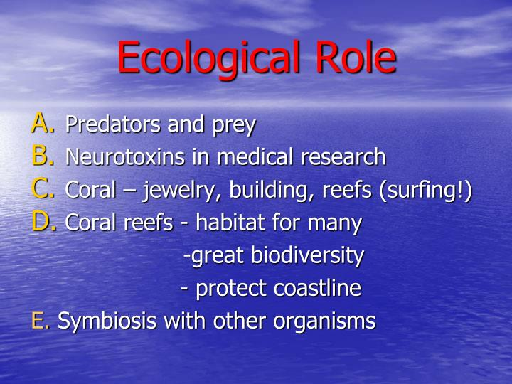 Ecological Role