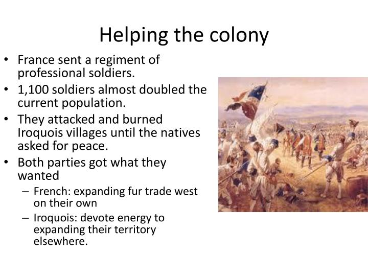 Helping the colony