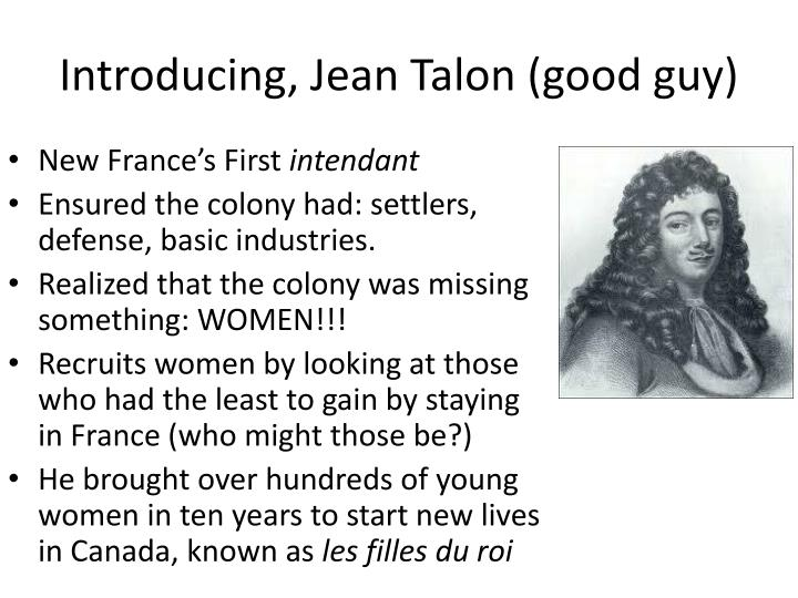 Introducing, Jean Talon (good guy)