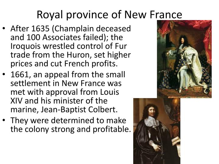 Royal province of New France