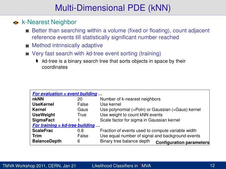 Multi-Dimensional PDE (