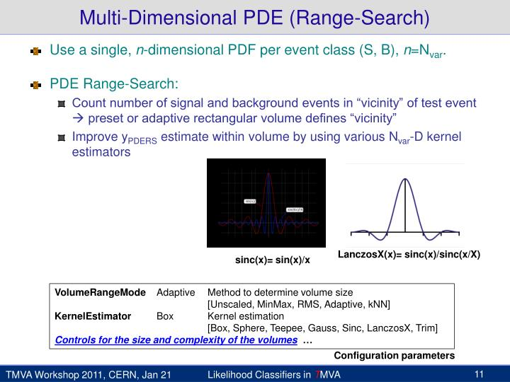 Multi-Dimensional PDE (Range-Search)
