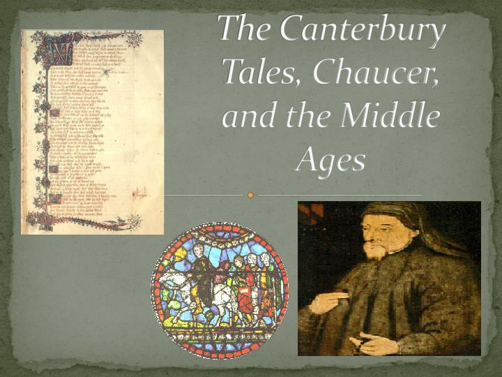 chaucer essays canterbury tales Canterbury tales essaysone side of the ancient circle sits and will always remain black, like the devil¡s heart it is the dark force that represents all that is.