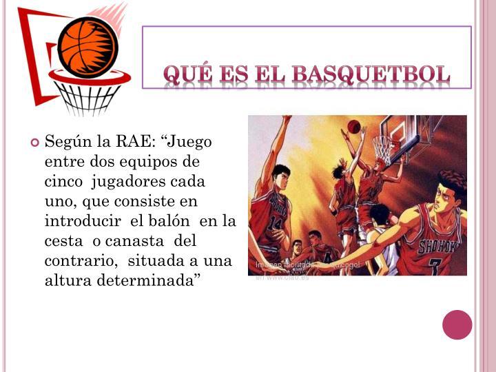 Qué es el Basquetbol