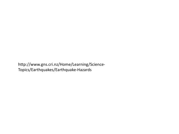 http://www.gns.cri.nz/Home/Learning/Science-Topics/Earthquakes/Earthquake-Hazards