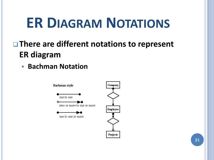 ER Diagram Notations