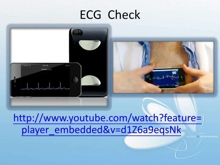 ECG  Check