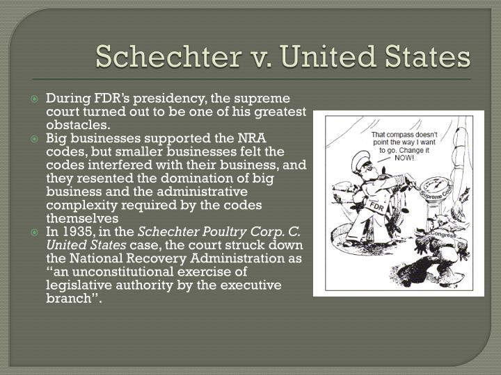 Schechter v. United States