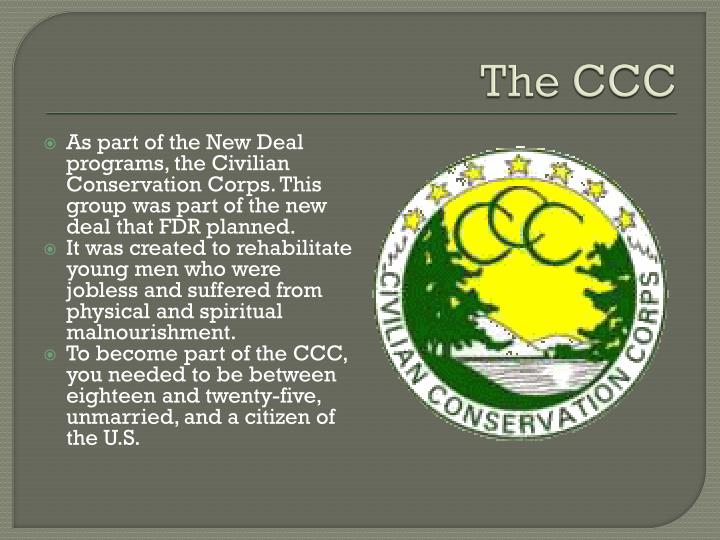 The CCC