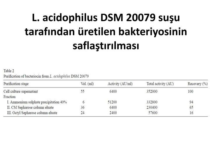 L. acidophilus DSM 20079
