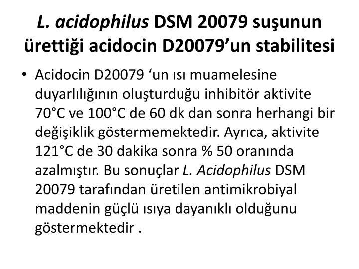 L. acidophilus