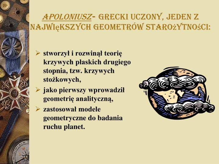 Apoloniusz