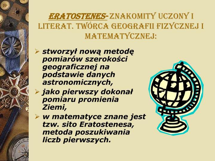 Eratostenes-