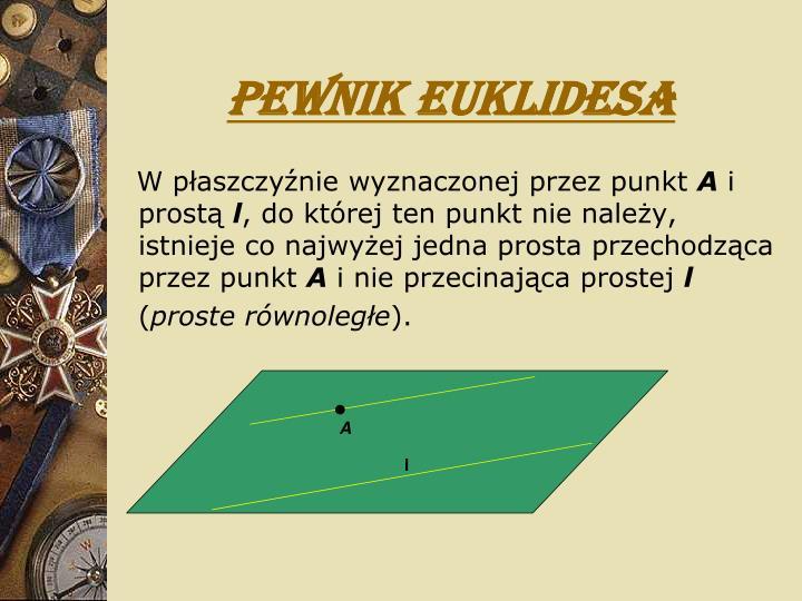 Pewnik Euklidesa