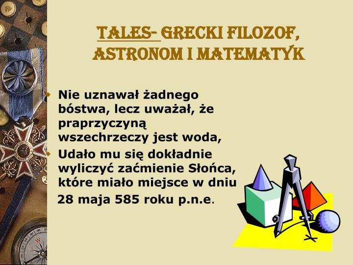 Tales-