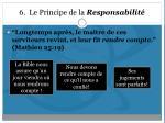 6 le principe de la responsabilit