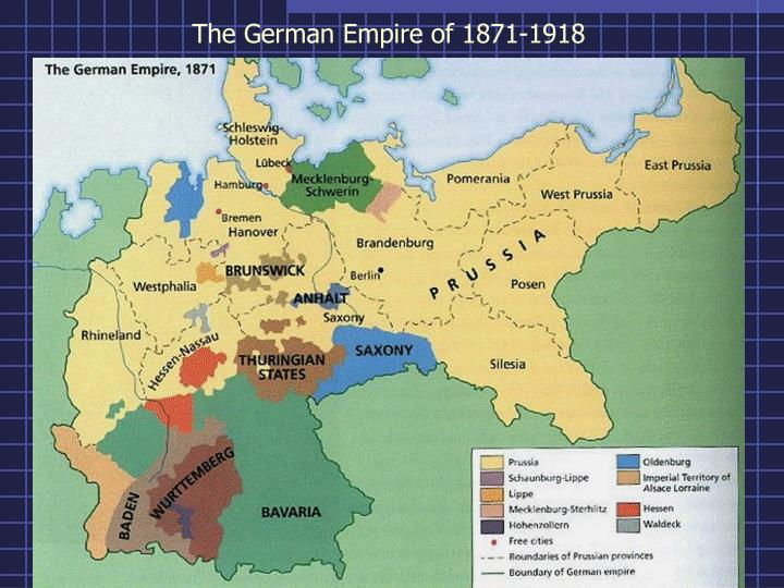 The German Empire of 1871-1918