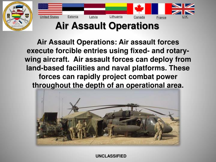 Air Assault Operations