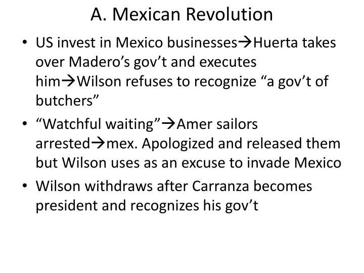 A. Mexican Revolution