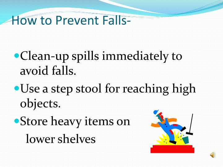 How to Prevent Falls-