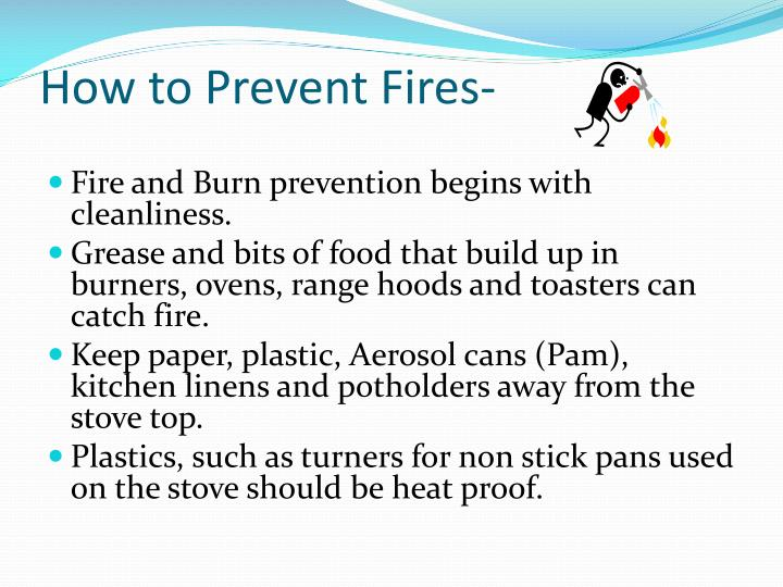 How to Prevent Fires-