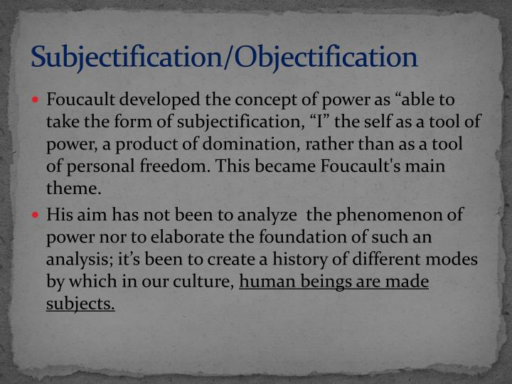 Subjectification