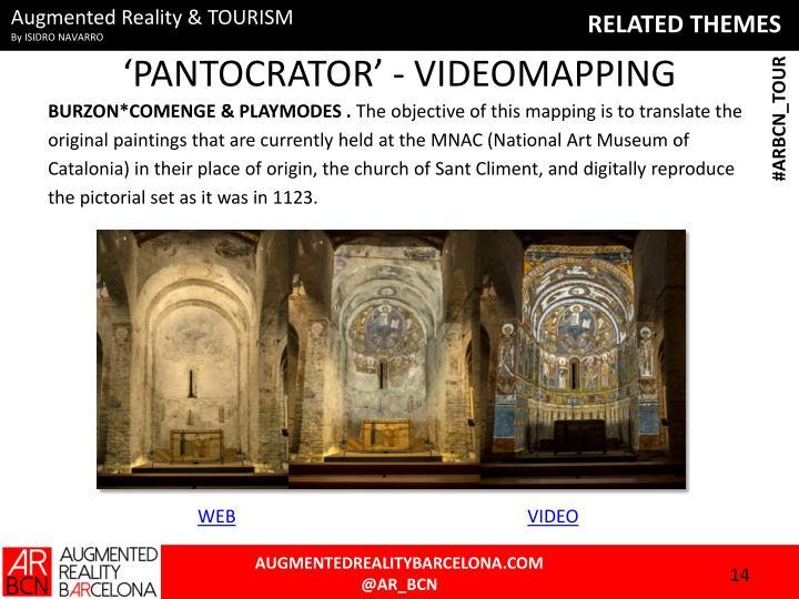 'PANTOCRATOR' - VIDEOMAPPING