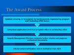 the award process1