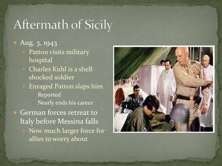 Aftermath of Sicily