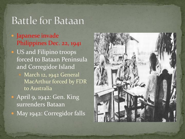 Battle for Bataan