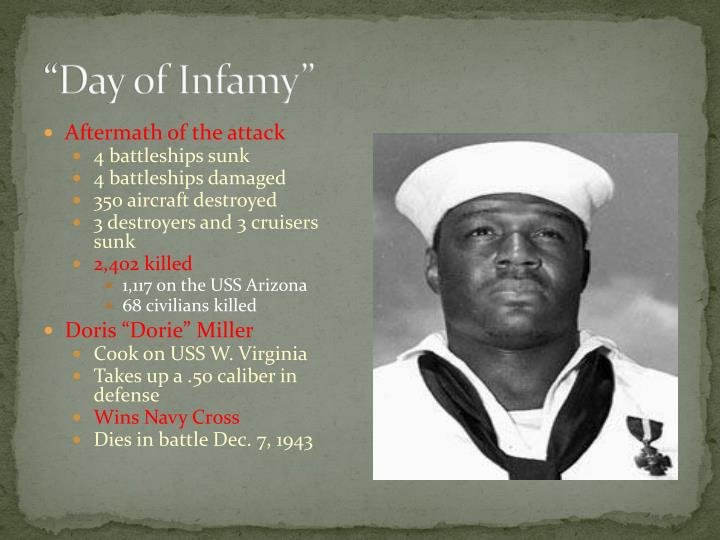 """""""Day of Infamy"""""""