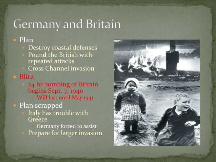 Germany and Britain