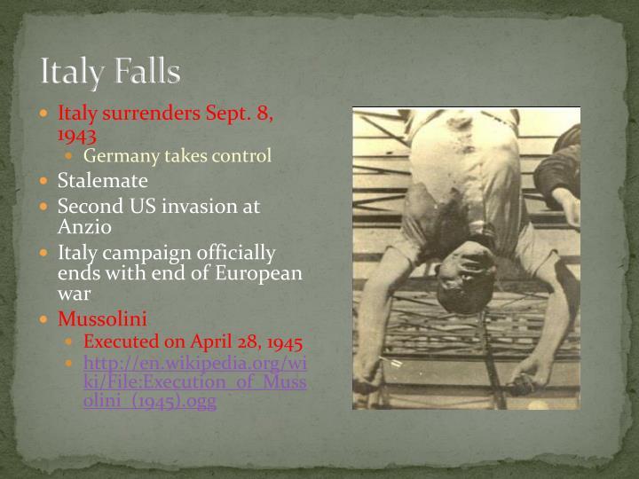 Italy Falls