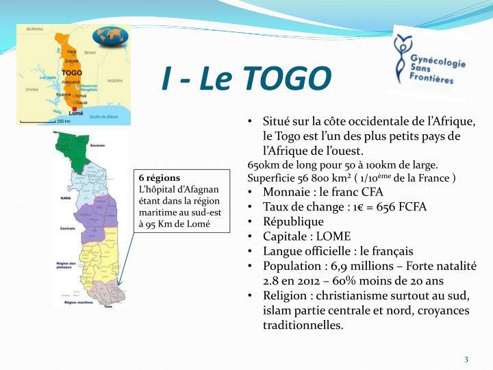 I - Le TOGO