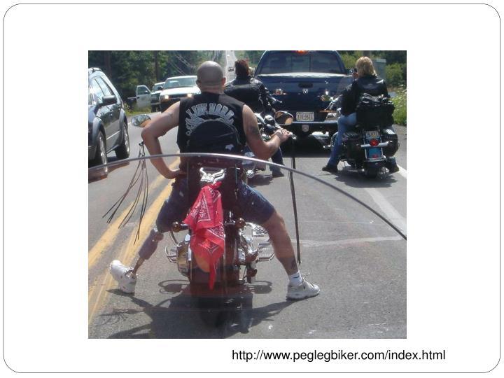 http://www.peglegbiker.com/index.html
