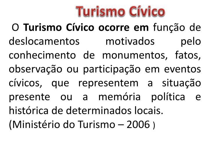 Turismo Cívico