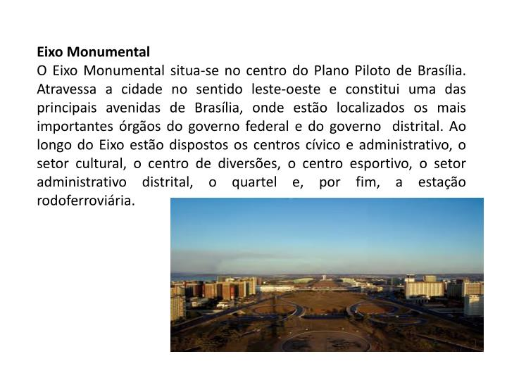 Eixo Monumental