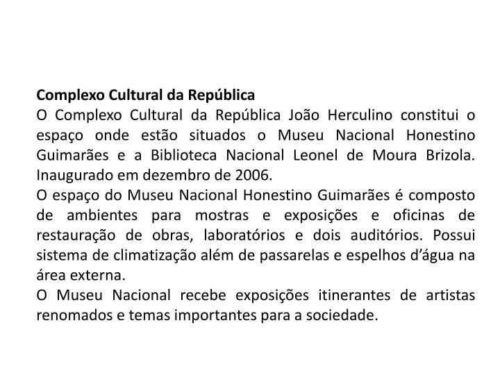 Complexo Cultural da República