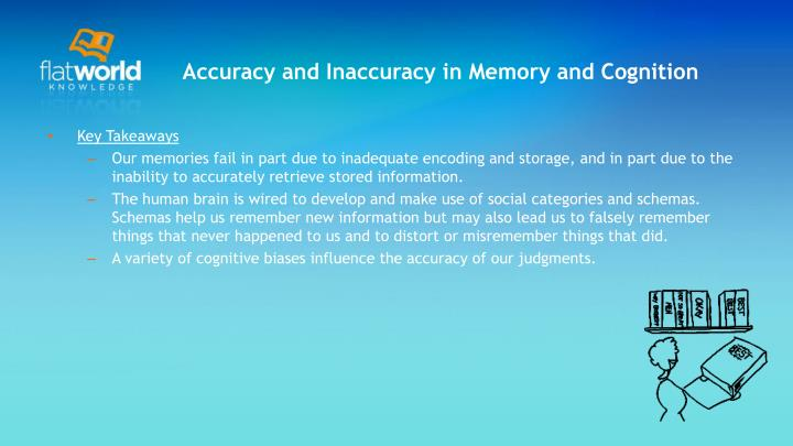 Accuracy and Inaccuracy in Memory and Cognition