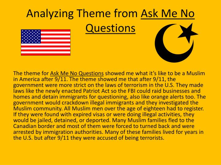Analyzing Theme from