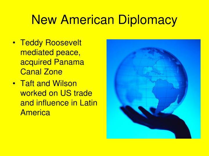 New American Diplomacy