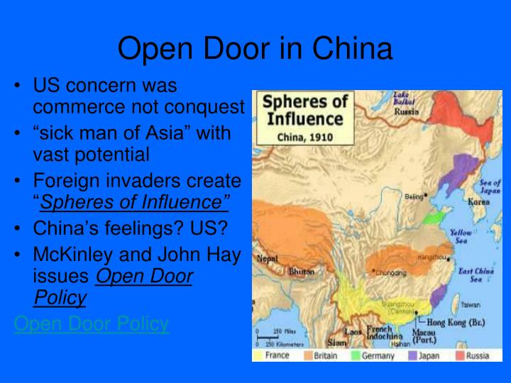 Open Door in China