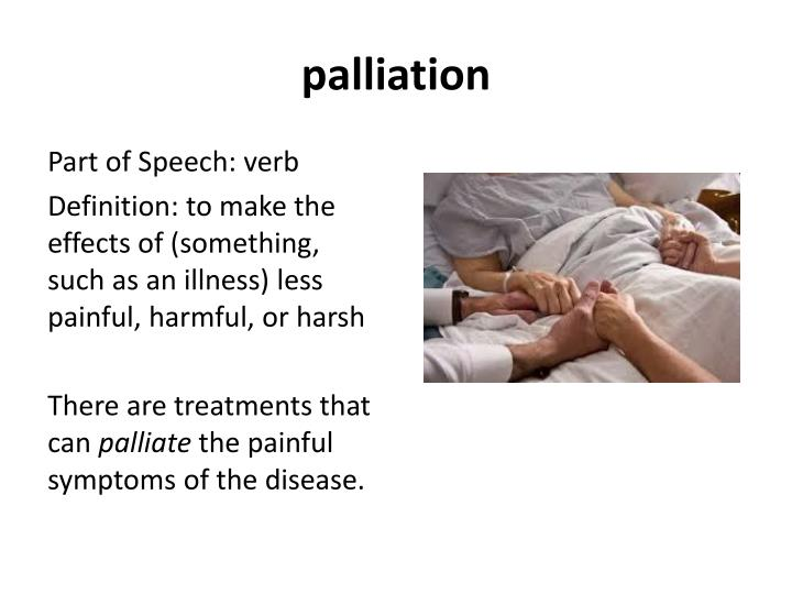 palliation