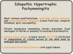 idiopathic hypertrophic pachymeningitis1