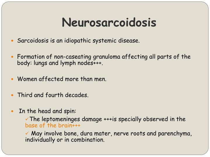 Neurosarcoidosis