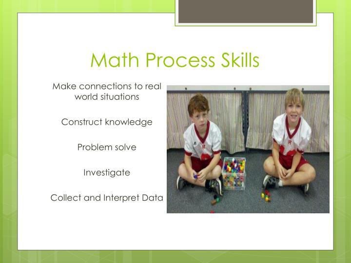Math Process Skills